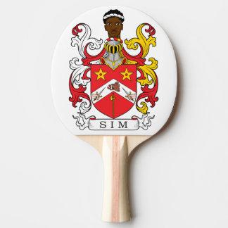 Escudo de la familia de Sim Pala De Ping Pong