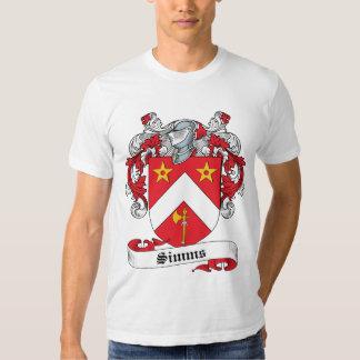 Escudo de la familia de Simms Camisas