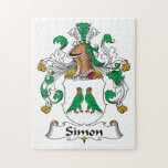 Escudo de la familia de Simon Rompecabezas