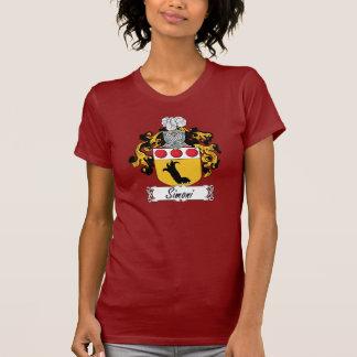 Escudo de la familia de Simoni Camisetas