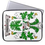Escudo de la familia de Skaaning Fundas Ordendadores