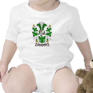 Escudo de la familia de Skaaning Trajes De Bebé