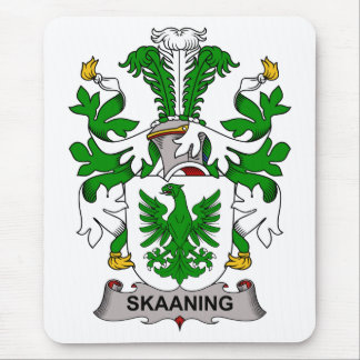 Escudo de la familia de Skaaning Tapete De Ratón