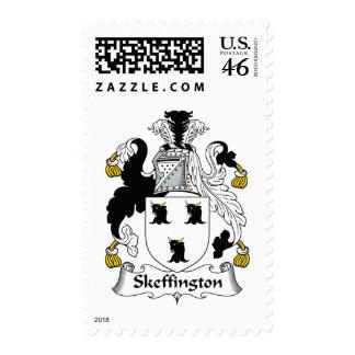 Escudo de la familia de Skeffington Envio