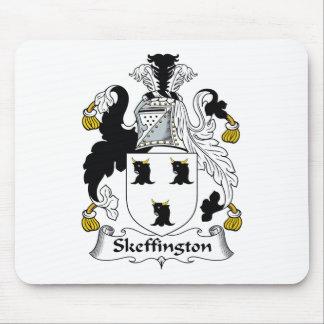 Escudo de la familia de Skeffington Tapete De Ratones