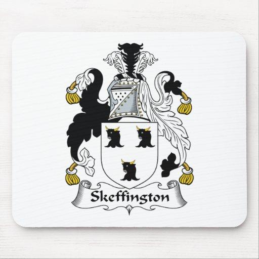 Escudo de la familia de Skeffington Tapetes De Raton