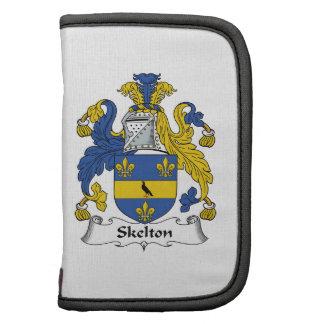 Escudo de la familia de Skelton Planificador