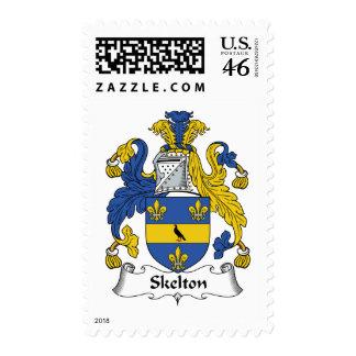 Escudo de la familia de Skelton Sellos