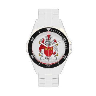 Escudo de la familia de Skene Reloj