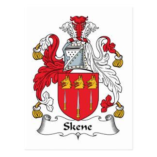Escudo de la familia de Skene Postal