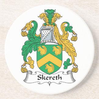 Escudo de la familia de Skereth Posavaso Para Bebida