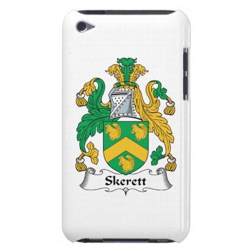 Escudo de la familia de Skerett Barely There iPod Cobertura