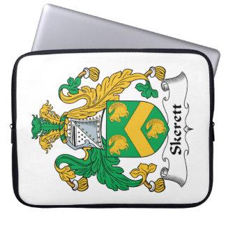 Escudo de la familia de Skerett Fundas Computadoras