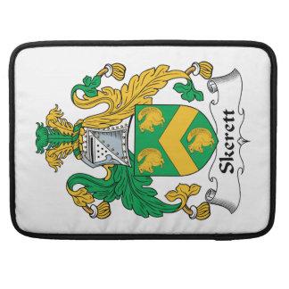 Escudo de la familia de Skerett Funda Macbook Pro