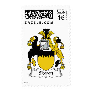 Escudo de la familia de Skerett Sellos