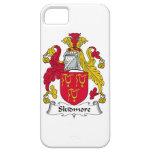 Escudo de la familia de Skidmore iPhone 5 Case-Mate Cárcasa