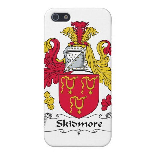 Escudo de la familia de Skidmore iPhone 5 Fundas
