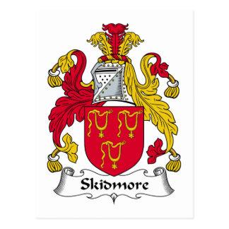Escudo de la familia de Skidmore Postales