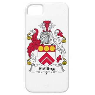 Escudo de la familia de Skilling iPhone 5 Coberturas