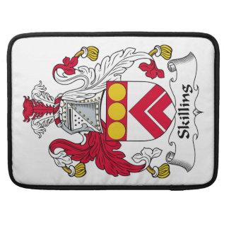 Escudo de la familia de Skilling Fundas Macbook Pro