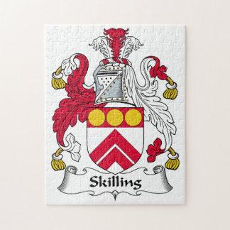 Escudo de la familia de Skilling Puzzles
