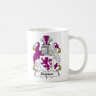 Escudo de la familia de Skipton Tazas De Café