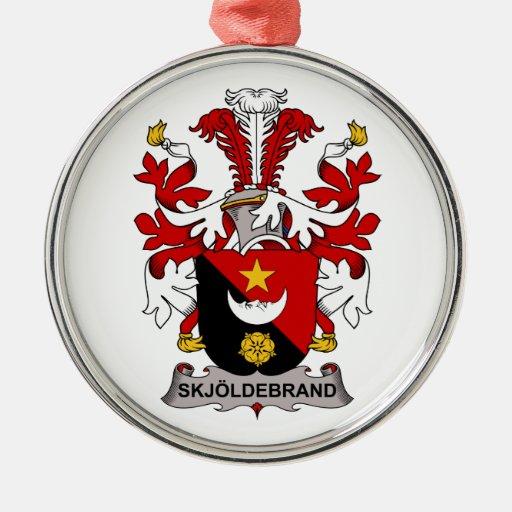 Escudo de la familia de Skjoldebrand Ornato