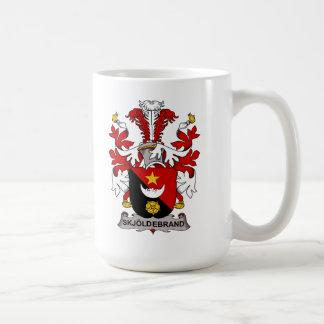 Escudo de la familia de Skjoldebrand Taza De Café