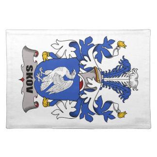 Escudo de la familia de Skov Manteles