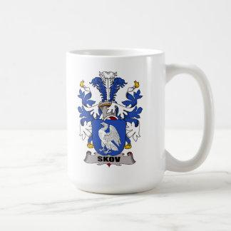 Escudo de la familia de Skov Taza De Café