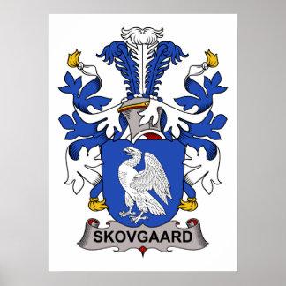 Escudo de la familia de Skovgaard Impresiones