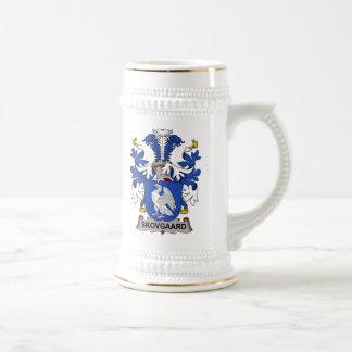 Escudo de la familia de Skovgaard Tazas De Café