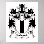 Escudo de la familia de Skrbenski Impresiones