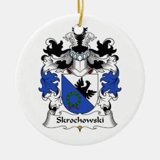 Escudo de la familia de Skrochowski Ornamentos De Reyes Magos