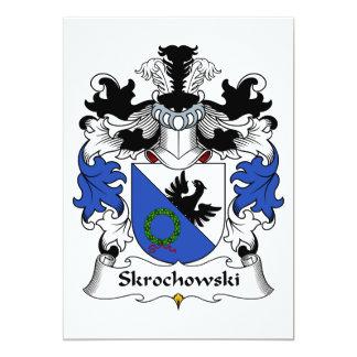 Escudo de la familia de Skrochowski Invitaciones Personalizada