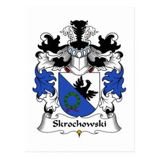 Escudo de la familia de Skrochowski Postales