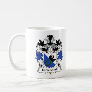 Escudo de la familia de Skrochowski Taza