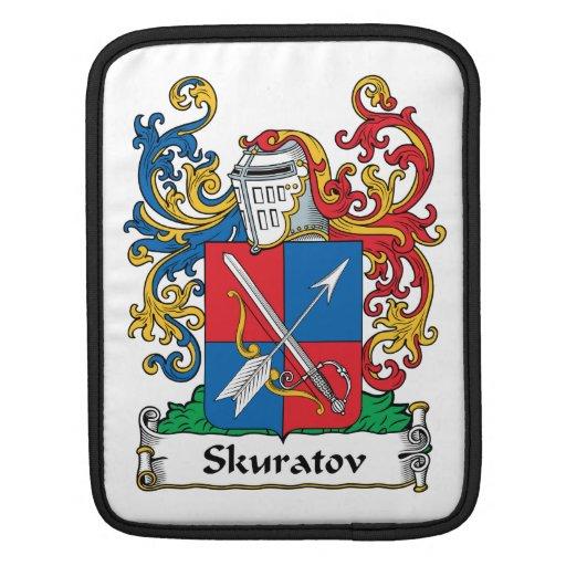 Escudo de la familia de Skuratov Funda Para iPads