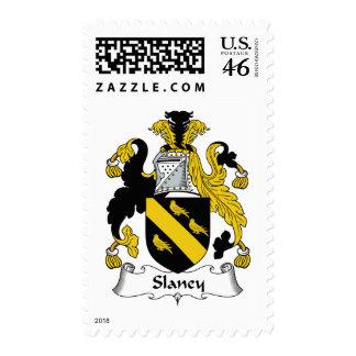 Escudo de la familia de Slaney Sello