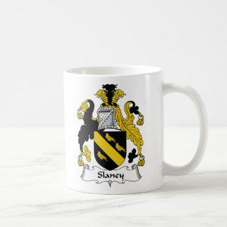 Escudo de la familia de Slaney Taza De Café