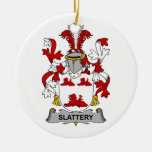Escudo de la familia de Slattery Ornamente De Reyes