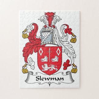 Escudo de la familia de Slewman Puzzles Con Fotos
