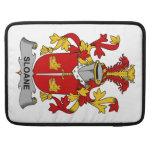 Escudo de la familia de Sloane Funda Para Macbooks