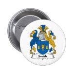 Escudo de la familia de Smith Pins