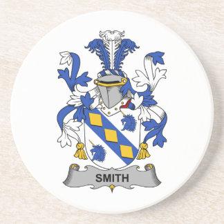 Escudo de la familia de Smith Posavasos Para Bebidas