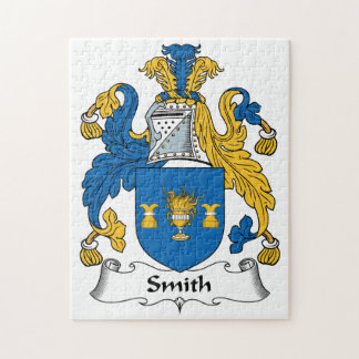 Escudo de la familia de Smith Rompecabeza Con Fotos