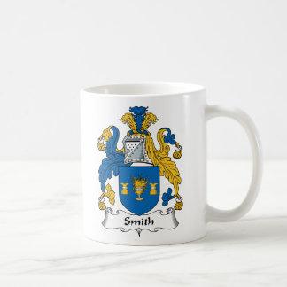 Escudo de la familia de Smith Taza De Café