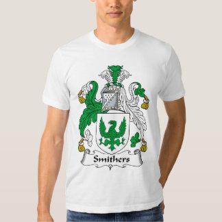 Escudo de la familia de Smithers Remeras