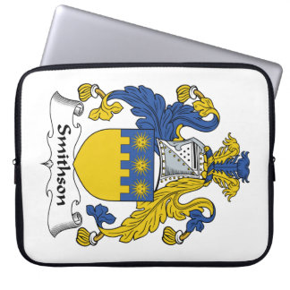 Escudo de la familia de Smithson Funda Computadora