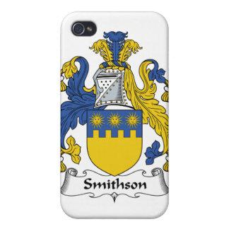 Escudo de la familia de Smithson iPhone 4 Coberturas